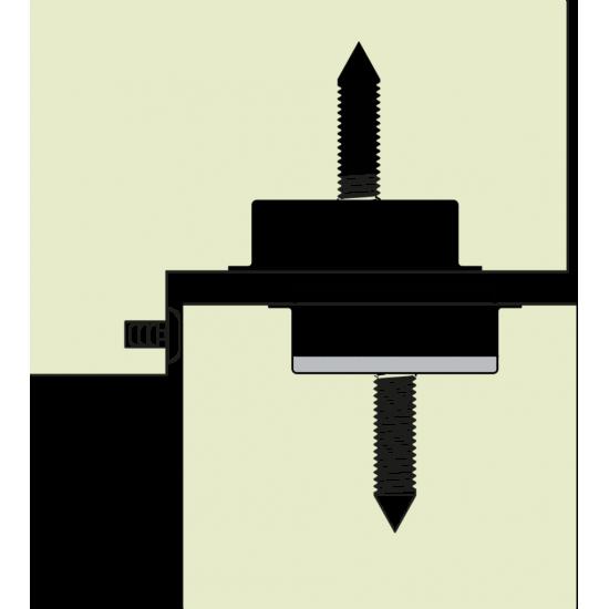 Magnētiska durvju atdure Stoppino Close 14MCR
